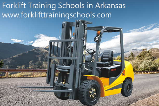 forklift training schools in Arkansas